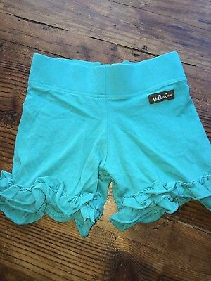 Matilda Jane Sz 8 Teal Shorties