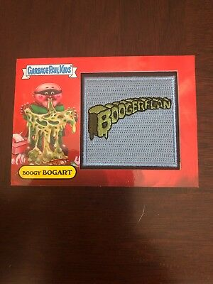 "2019 Garbage Pail Kids We Hate The 90's ""BOOGY BOGART"" Patch Card #49/50"