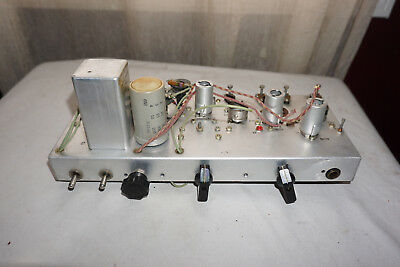 Western Electric Chasis for Tube Amp Output 174? Transformer KS-14009 Cap