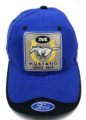 55794033243c1 FORD MUSTANG BASEBALL Cap Hat Buckle Adjustable Back -  19.99