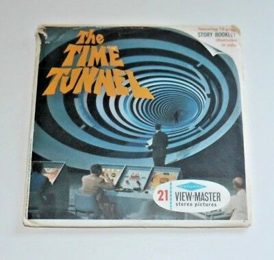 The Time Tunnel Viewmaster Reels 1966 Complete Set B491 Rare  C643