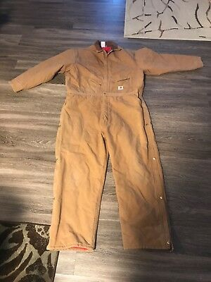 CARHARTT Men's Quilt-Lined Coveralls (Size 54 Regular) great condition!