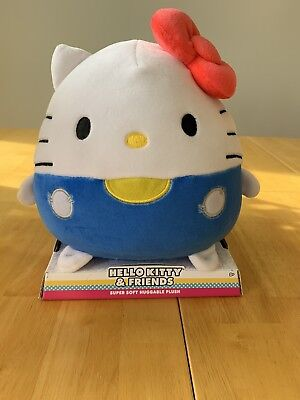 "10"" Sanrio Hello Kitty Plush Super Soft Huggable Plush (New)"