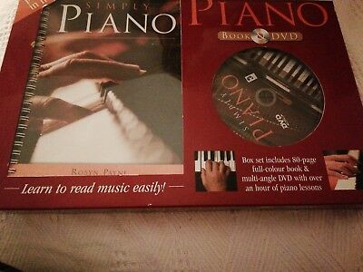 Simply Piano Book and DVD