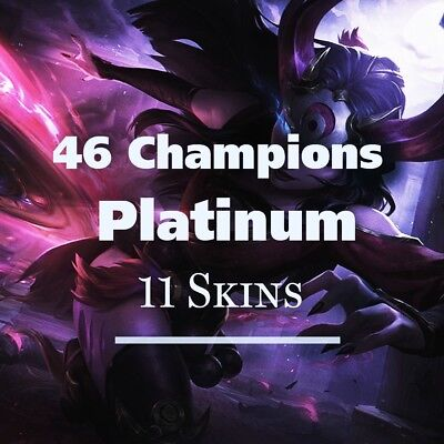 League of Legends Account | LoL Acc | EUW | Platinum | High Winrate | Very Cheap