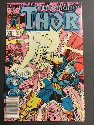The Mighty Thor #339 - 1st Stormbreaker 3rd Beta Ray Bill  - VF / NM 1984