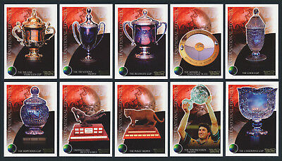 2003 Kryptyx International Trophies Rugby Union Set of 10 Cards