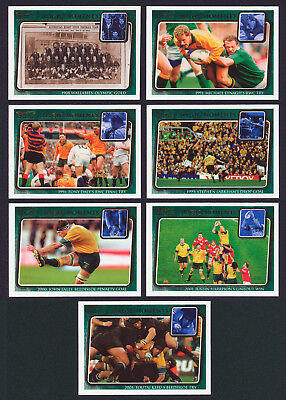 Magic Moments 2003 Kryptyx Rugby Union Set of 7 Cards