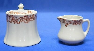 Vintage Shenango  China Creamer & Sugar Bowl  Poss circa early 1900's      #2286