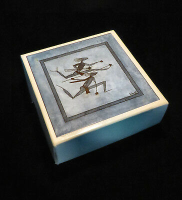 South African Tribal Warrior Design Coasters - Six - In Original Packaging