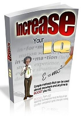 INCREASE YOUR IQ >>High Quality PDF {eBook} with  MRR + FREE Bonus EBOOK
