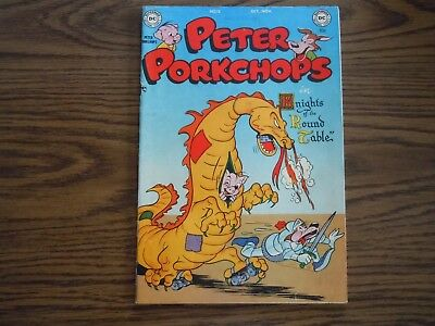 """ PETER PORKCHOPS "" COMIC - No.12 - 1951"