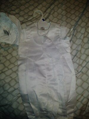 Infant Toddler Boy Baptism Christening Suit Gown Outfit Dedication 6-9 months