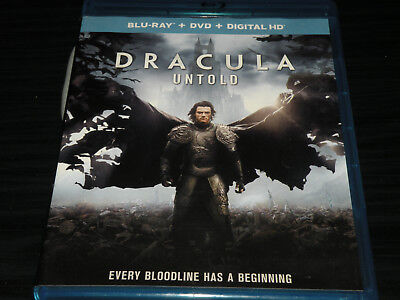 Dracula Untold (Blu-ray, 2015) Nonstop Action: Every Bloodline has a Beginning!