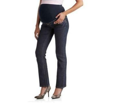 1cd6502a6eb6d Planet Motherhood Full Panel 5 Pocket Bootcut Maternity Rinse Jeans Small  Large