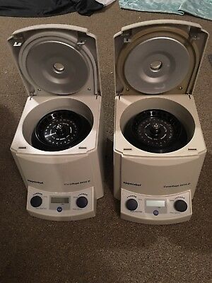 Eppendorf 5415D Centrifuge w/ Rotor F45-24-11, power cord and manual.