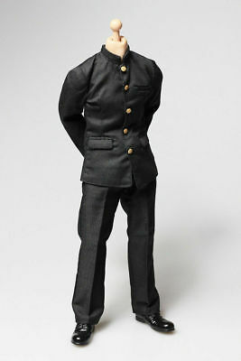 1/6 Scale Chinese Tunic Suit Uniform Clothing Set For 12'' Male Figure