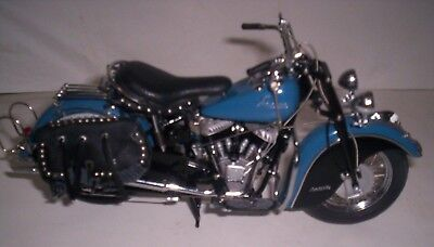 Danbury Mint 1/10 scale 1948 Indian Chief Roadmaster Motorcycle Diecast with bag