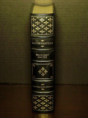 Andersonville - Mackinlay Kantor - Franklin Library - Limited Edition - Leather