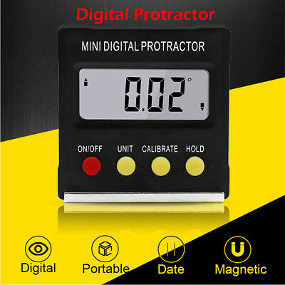 Measuring Inclinometer Electronic Level Box Angle Gauge Meter Digital Protractor