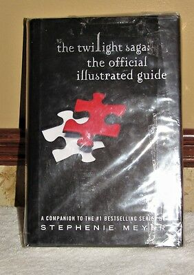 Twilight Saga: The Official Illustrated Guide 1St Edition Brand New Condition