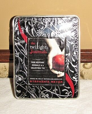 TWILIGHT SAGA THE TWILIGHT JOURNALS in SEALED COLLECTABLE TIN