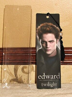 TWILIGHT SAGA EDWARD CULLEN BOOKMARK in PLASTIC SLEEVE MINT CONDITION