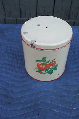 3 Piece Kitchen Canister Set Modern Maid of Honor Tomato Vintage Antique
