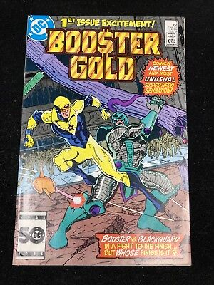 DC Booster Gold #1 | Near Mint and Unread! | Key Issue NM (9.4)