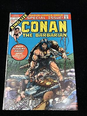 CONAN THE BARBARIAN KING-SIZE SPECIAL #1 Barry Smith art 9.0