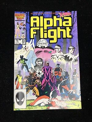 Alpha Flight Lot Of 2 - #33 #34 1St Appearance Of Lady Deathstrike (Nm)