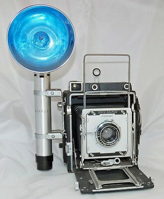 4 X 5 Pacemaker Speed Graphic Press Camera w/Flash 1947