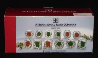 International Silver Company 12 Twelve Days Of Christmas Ornaments