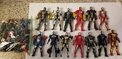 "Marvel Universe 3.75"" Iron Man Lot Of 13 Figures"