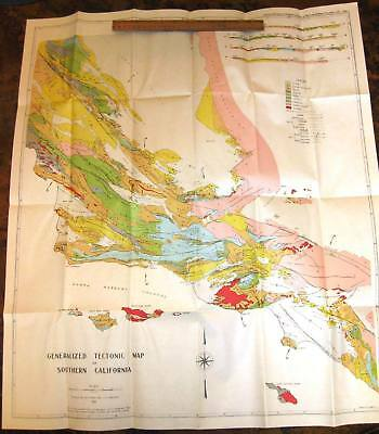 STRUCTURAL EVOLUTION OF SOUTHERN CALIFORNIA by Reed 1936 Petroleum Geography