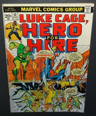 Hero For Hire (Luke Cage) #12 1973 6.0 FN Origin Chemistro BV$9 35%Off