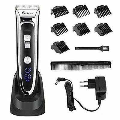Professional Hair Clippers Set for Men,Facial and Mustache Trimmers,Cordless