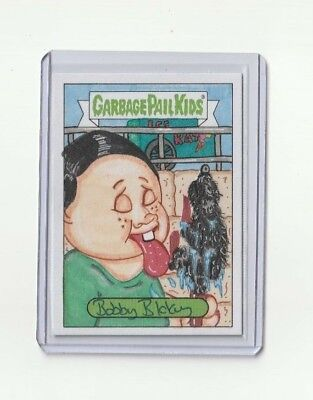 2019 GARBAGE PAIL KIDS We Hate The 90s SKETCH CARD Bobby Blakey