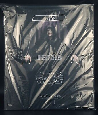 Hot Toys 1/6 Star Wars VI Return of the Jedi Emperor Palpatine Deluxe Ver MMS468