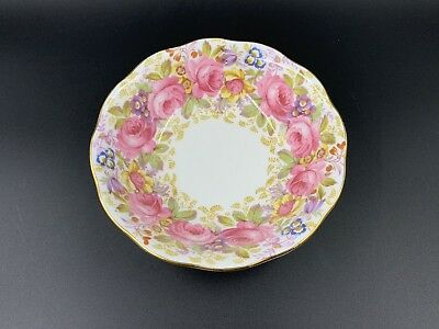 "Royal Albert Serena Fruit Bowl Nappy 5 1/4"" Bone China England"
