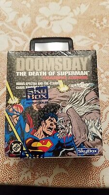 1992 Skybox Doomsday Death Of Superman Sealed Box