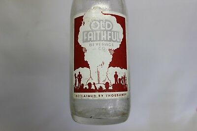 Old Faithful Soda Bottle, Idaho Falls, Idaho 1962