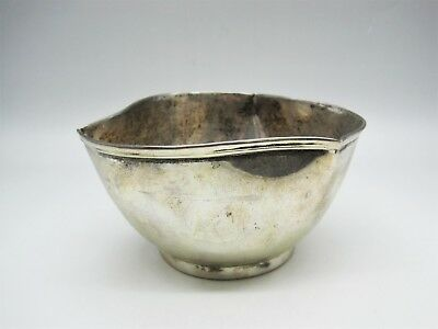 925 Sterling Silver Mexico Geeves of San Francisco Modernist Bowl 145.08 Grams