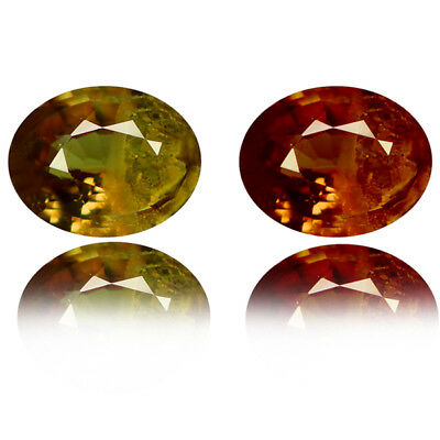 0.90 Ct TERRIFIC! 100% NATURAL BROWN TO RED COLOR CHANGE GARNET
