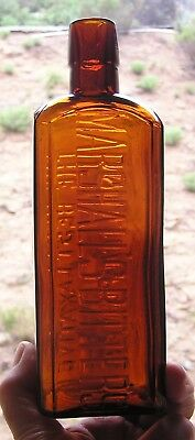 Square Western Bitters, Marshall's Bitters, A Sacramento, Cal. Product