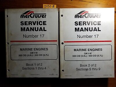 MERCRUISER MERCURY 1993- GM V8 305 5 0L 350 5 7L Marine Engine Service  Manual 96