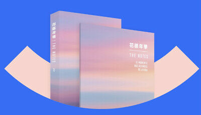 BTS THE NOTES 1 The Most Beautiful Moment In Life]  花樣年華 +Pre-order Benefit Note