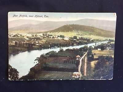 Vintage Collectable Postcard - New Norfolk, Near Hobart, Tasmania - c Early 1900