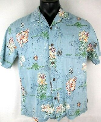 da13492d Toes on the Nose Hawaiian Shirt Men's size Large L Made in USA Textured  Material
