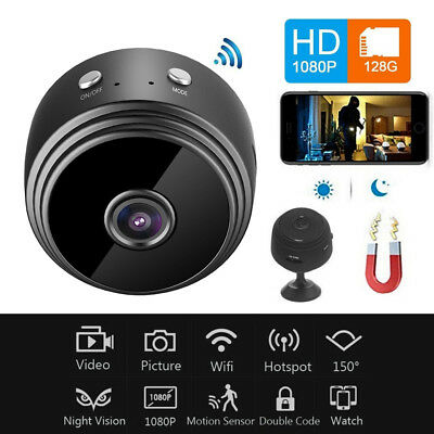 A9 Mini Spy IP Camera Wireless WiFi HD 1080P Hidden Network Monitor Security Cam